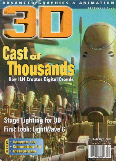 Cast of Thousands - 3D Mag