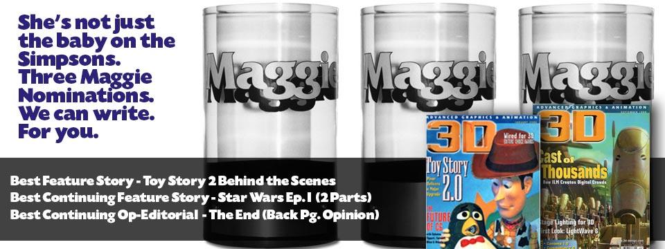 3D Magazine Articles