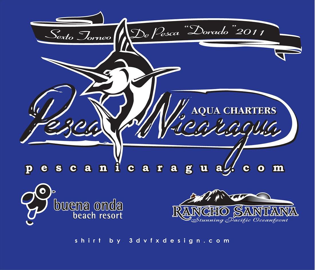 Pesca Nicaragua Tourney Shirt